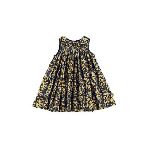 Coventry Lt šaty modro/žlté | POMPdeLUX