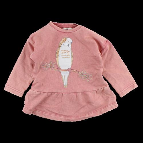 Grace ombre ružové šaty s papagájom 8d8dc8cf31d
