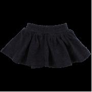 Bay tmavomodrá sukňa prešívaná medenou niťou | Small Rags