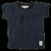 Bay tmavomodré čipkované tričko s krátkymi rukávmi  | Small Rags