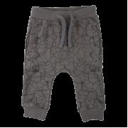 Bruce tmavosivé tepláky s efektom popraskanej zeme | Small Rags