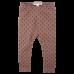 Dolly orieškovohnedé legíny s jemným vzorom Mr. Ragsa | Small Rags