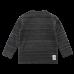 Danny čiernosivé melírované elastické tričko s dlhými rukávmi | Small Rags
