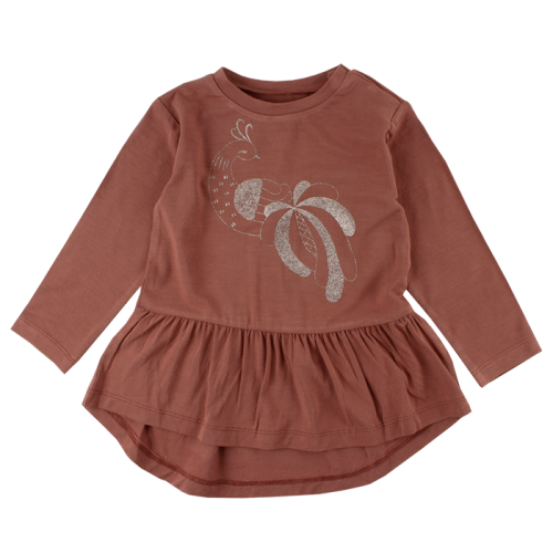 Fanny koňakové mäkučké šaty/tunika   Small Rags