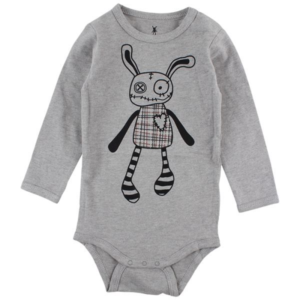 Felix sivé body s Mr. Ragsom | Small Rags