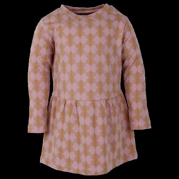 Julia fialkovo-zlatý top s dlhými rukávmi  |SMALL RAGS
