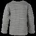 Jack svetlošedé prúžkové elastické tričko s obrysom Mr. Ragsa  |SMALL RAGS