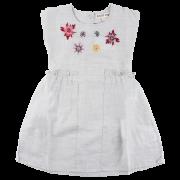 Iris Šedé melírované vidiecke šaty | SMALL RAGS