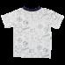 Námornícke ilustrované tričko s krátkymi rukávmi Ivan | SMALL RAGS