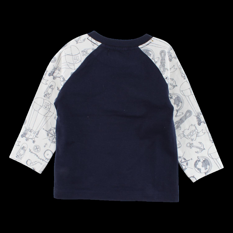 c7d684677943 ... Námornícke tmavomodré tričko s dlhými rukávmi Ivan