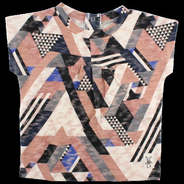 Ella vzorované elastické tričko  | Small Rags