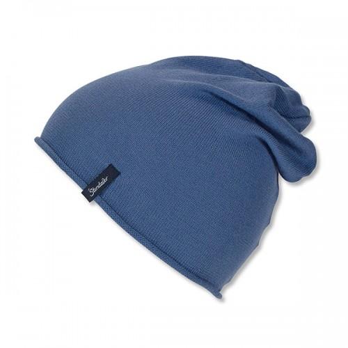 Chlapčenská tmavomodrá bavlnená čiapka | Sterntaler