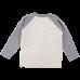 Bruce bielosivé tričko s dlhými rukávmi    Small Rags