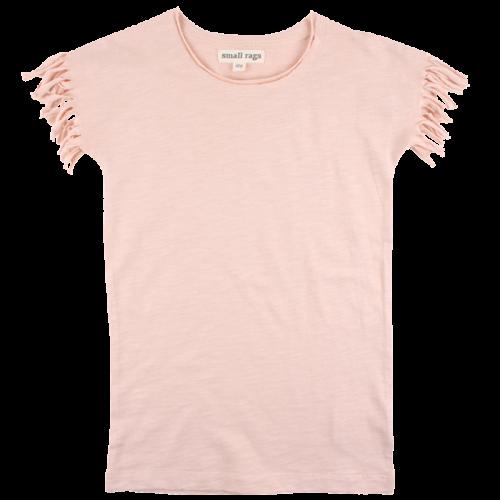 Bera ružové tričko s krátkymi rukávmi | Small Rags