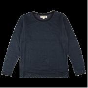 Bera tmavomodré čipkované tričko s dlhými rukávmi  | Small Rags