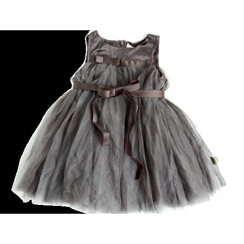 Hannah Lt šaty šedé | POMPdeLUX